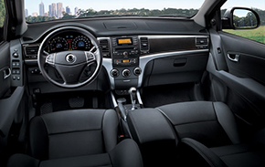 SsangYong Actyon Sports интерьер